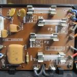 Technics(テクニクス) SP-10 mk3  電源ヒューズ回路基板 部品面 オーバーホール前