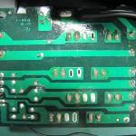 Technics(テクニクス) SP-10 mk3  電源ヒューズ回路基板 半田面 オーバーホール前