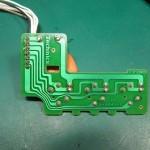 Technics(テクニクス) SP-10 mk3  スピードセレクトスイッチ回路基板 半田面 オーバーホール前