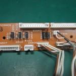 Technics(テクニクス) SP-10 mk3  中継回路基板 部品面 オーバーホール前