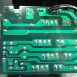 Technics(テクニクス) SP-10 mk3  電源ヒューズ回路基板 半田面 オーバーホール後