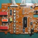 Technics(テクニクス) SP-10 mk3  オペレーション回路基板 部品面 オーバーホール後