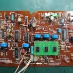 Technics(テクニクス) SP-10 mk3  コントロール回路基板 部品面 オーバーホール後