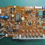 Technics(テクニクス) SP-10 mk3  ドライブ回路基板 部品面 オーバーホール後