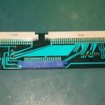 Technics (テクニクス) SP-10mk2 中継部プリント基板 部品面 オーバーホール前