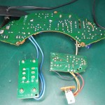 Technics (テクニクス) SP-15 電源回路基板 半田面 オーバーホール前