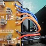 Technics (テクニクス) SP-10mk3 ヒューズ回路基板付近 配線が固定されていない