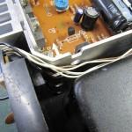 Technics (テクニクス) SP-10mk3 電源・オペレーション回路基板付近 配線が固定されていない