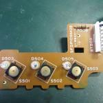 Technics (テクニクス) SP-10mk3 スピードセレクトスイッチ回路基板 部品面 オーバーホール前