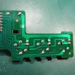 Technics (テクニクス) SP-10mk3 スピードセレクトスイッチ回路基板 半田面 オーバーホール前