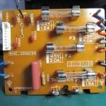 Technics (テクニクス) SP-10mk3 ヒューズ回路基板 部品面 オーバーホール後
