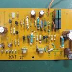 Technics (テクニクス) SP-10mk2 電源ユニット基板 部品面 オーバーホール前