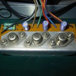 Technics (テクニクス) SP-10 駆動トランジスタ基板 部品面 オーバーホール前