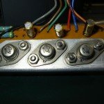 Technics (テクニクス) SP-10 駆動トランジスタ基板 部品面 オーバーホール後