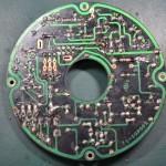 Techbics (テクニクス) SP-10 駆動回路基板 半田面 オーバーホール前