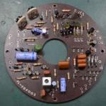 Techbics (テクニクス) SP-10 駆動回路基板 部品面 オーバーホール前