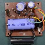 Techbics (テクニクス) SP-10 電源回路基板 部品面 オーバーホール前