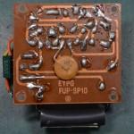 Techbics (テクニクス) SP-10 電源回路基板 半田面 オーバーホール前