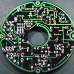 Techbics (テクニクス) SP-10 駆動回路基板 半田面 オーバーホール後