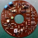 Techbics (テクニクス) SP-10 駆動回路基板 部品面 オーバーホール後