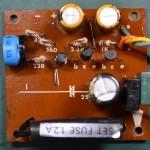Techbics (テクニクス) SP-10 電源回路基板 部品面 オーバーホール後