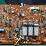 Technics (テクニクス) SP-10mk3 コントロール回路基板 部品面 オーバーホール前