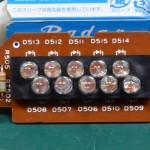 Technics (テクニクス) SP-10mk3 ストロボLED回路基板 部品面 オーバーホール前