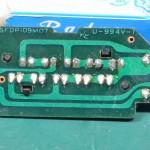 Technics (テクニクス) SP-10mk3 ストロボLED回路基板 半田面 オーバーホール前