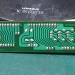 Technics (テクニクス) SP-10mk3 コネクション回路基板 半田面 オーバーホール後