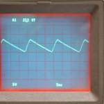 Technics (テクニクス) SP-10mk3 制御回路用整流波形 オーバーホール前