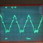Technics (テクニクス) SP-10mk3 DDモータ駆動波形 33rpm オーバーホール前