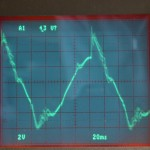 Technics (テクニクス) SP-10mk3 DDモータ駆動波形 45rpm オーバーホール前