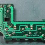 Technics (テクニクス) SP-10mk3 回転数切り替え回路基板 部品面 オーバーホール前