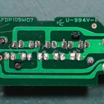 Technics (テクニクス) SP-10mk3 ストロボLED回路基板 半田面 オーバーホール後
