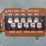 Technics (テクニクス) SP-10mk3 ストロボインジケーター回路基板 部品面 オーバーホール前