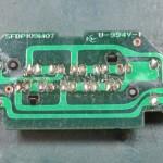Technics (テクニクス) SP-10mk3 ストロボインジケーター回路基板 半田面 オーバーホール前