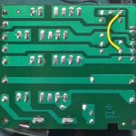 Technics (テクニクス) SP-10mk3 電源ヒューズ回路基板 半田面 オーバーホール後