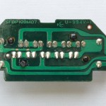 Technics (テクニクス) SP-10mk3 ストロボインジケーター回路基板 半田面 オーバーホール後