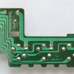 Technics (テクニクス) SP-10mk3 回転数切り替え回路基板 半田面 オーバーホール後