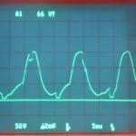 Technics (テクニクス) SP-10mk2 電源波形 オーバーホール前