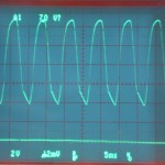 Technics (テクニクス) SP-10mk2 電源電圧波形 オーバーホール前