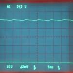 Technics (テクニクス) SP-10mk2 電源整流波形 オーバーホール前
