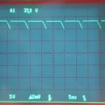 Technics (テクニクス) SP-10mk2 電源回路出力波形 オーバーホール前
