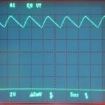 Technics (テクニクス) SP-10mk2 電源整流波形 オーバーホール後