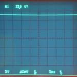 Technics (テクニクス) SP-10mk2 電源回路出力電圧波形 オーバーホール後