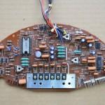 Technics (テクニクス) SP-15 ドライブ回路基板 部品面 オーバーホール前