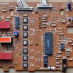 Technics(テクニクス) SL-1000mk3 オペレーション回路基板 部品面 オーバーホール前