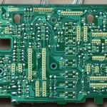 Technics(テクニクス) SL-1000mk3 オペレーション回路基板 半田面 オーバーホール前