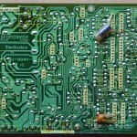 Technics(テクニクス) SL-1000mk3 電源オペレーション回路基板 半田面 オーバーホール前