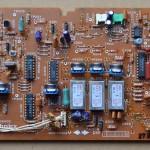 Technics(テクニクス) SL-1000mk3 コントロール回路基板 部品面 オーバーホール前